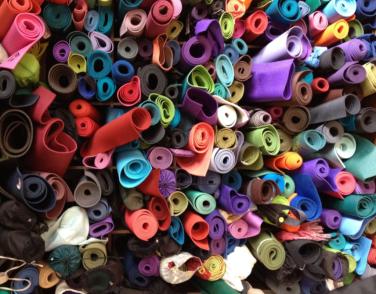 Yoga mats Pile
